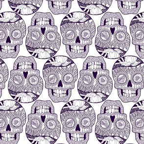 Calaveras Deep_Purple on_White.