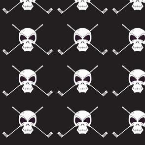 Skull & Sticks black