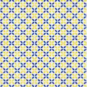 Petals Blue & Yellow