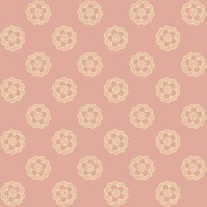 sakura in jasmine on peach