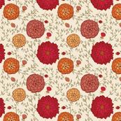"""Autumn Floral """"Bertha"""""""