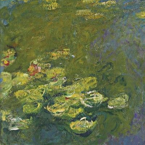 Monet - Water Lily Pond (1919) custom size