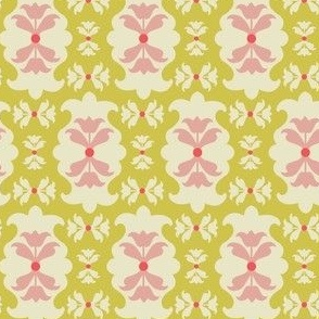 Yellow and Pink Pattern