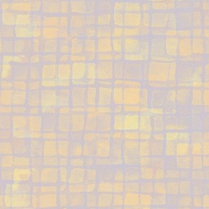 double tiles in soft gold