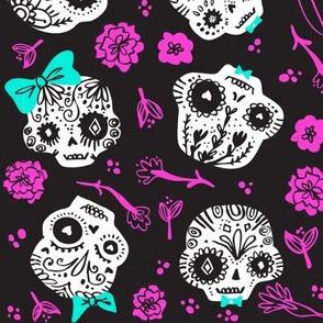 Dia De Los  Muertos - Custom Colors