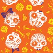 Dia De Los  Muertos - pumpkin