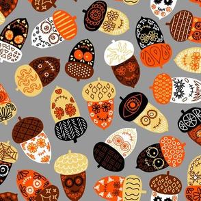 Spooky Sweet acorns
