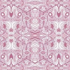 Sqirmy Pink Paisley Patches