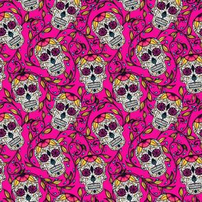 Viney Calaveras Pink