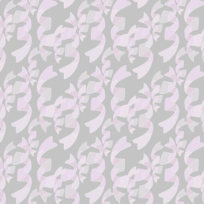 Ribbon Spiral, Grey