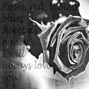 Grunge Love Rose