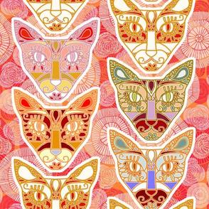 Sugar Skull Cats