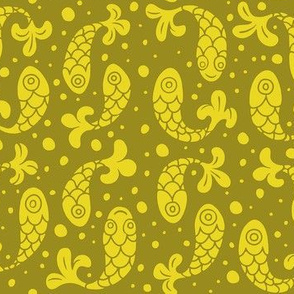 Bubble Fish in Mustard