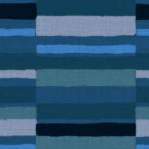 Caravan Stripe in blues