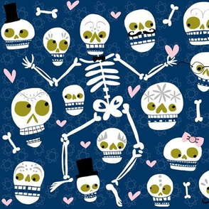 Calaveras for Spoonflower!