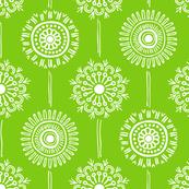 Blomma Christmas green