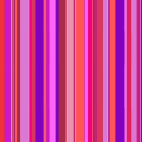 Pink and Purple Stripes: Doubled-Size