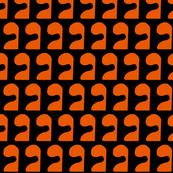 Puzzle Orange Black