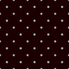 dots grey on black