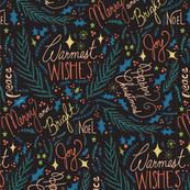 Warmest Wishes- Black