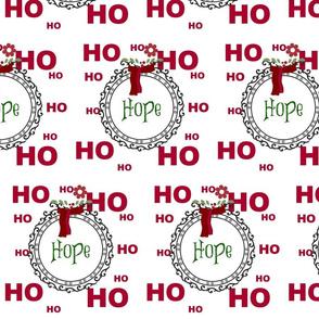 Holiday Ho Ho Ho Template-ed