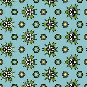 Summer Pattern Pineapples