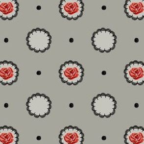 dots&stitches rose