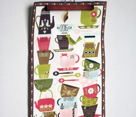 2016 Tea and Coffee Calendar - Bright