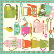 2016 Tea and Coffee Calendar - Bright