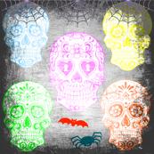 sugar skull fun,halloween