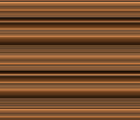Bronze Tone Stripe Large