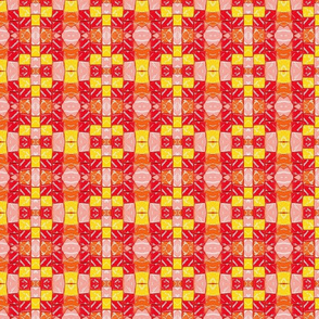 Abstract Starburst candy