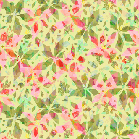 Pink Poinsettia- Angular