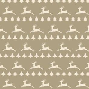 Raindeer Christmas- Cream Puff