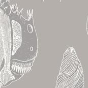 Super Giant Protozoa Gray