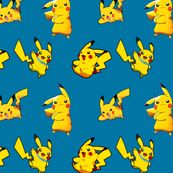 Pika-fabric blue