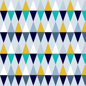 Losanges blue