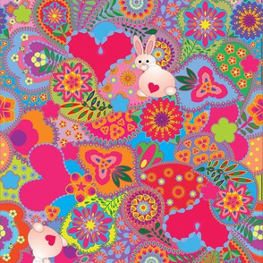 LoveBunnyEasterPaisley