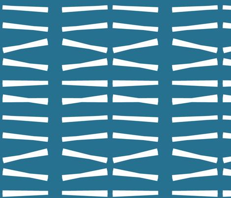 Blue white stripes