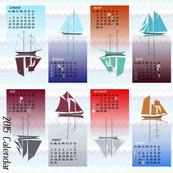 Schooners 2015 Calendar