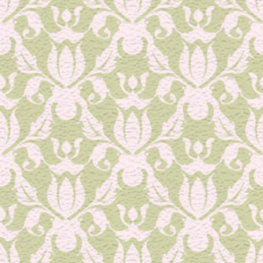 LARGE FOREST DAMASK