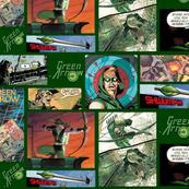 Ditsy Green Arrow