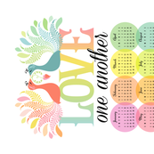 In Loving Color: Calendar 2015