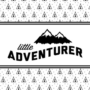 Little Adventurer // teepee