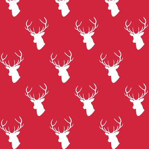 Christmas Red Deer