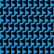 Puzzle Blue Black