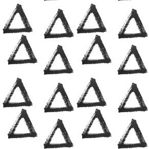triangle brushstroke - elvelyckan