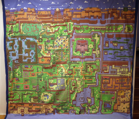 Link's Awakening Left Side