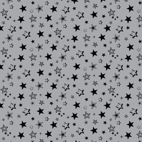 Stars Are Out At Night- Grey