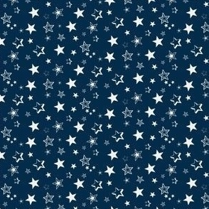 Stars Are Out At Night - Midnight Blue